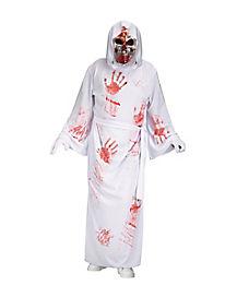 Adult White Bleeding Reaper Costume
