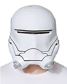 Adult FLAMETROOPER Star Wars The Force Awakens Half Mask Helmet
