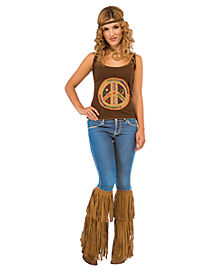 Fringed Hippie Boot Tops