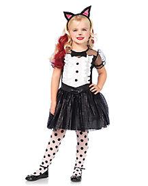 Toddler Tuxedo Kitty Costume