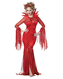 Adult Devilish Diva Devil Costume