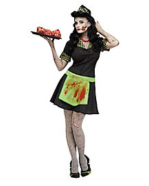 Adult Zombie  Car Hop Costume
