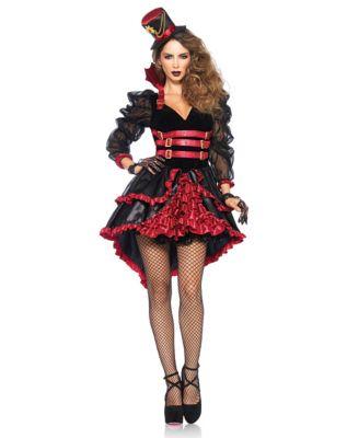 Steampunk Dresses | Women & Girl Costumes Adult Victorian Vampire Costume by Spirit Halloween $54.99 AT vintagedancer.com