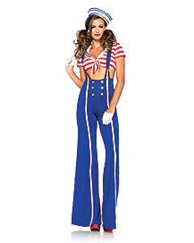 Adult Ship Shape Sailor Costume
