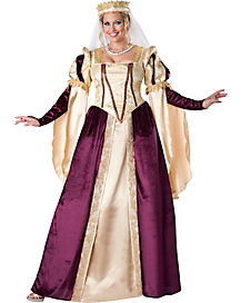 Adult Renaissance Princess Plus Size Costume - Theatrical