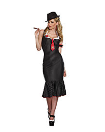 Adult Deadly Dames Costume