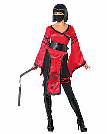 Adult Shadow Warrior Ninja Costume