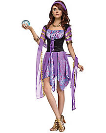 adult gypsy magic costume