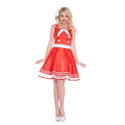 1950s Costumes Adult Vintage Girl 50s Costume $39.99 AT vintagedancer.com