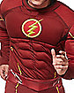 Adult Muscle Flash One Piece Costume - DC Comics