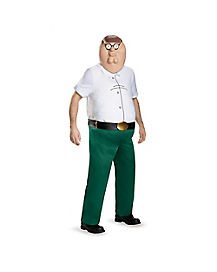 Adult Peter Plus Size Costume - Family Guy