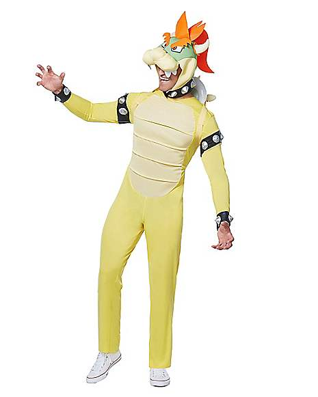 Adult Bowser Plus Size Costume Deluxe - Mario Bros  sc 1 st  Spirit Halloween & Adult Bowser Plus Size Costume Deluxe - Mario Bros - Spirithalloween.com
