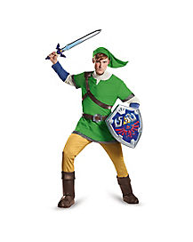 Adult Link Costume Deluxe - Legend of Zelda