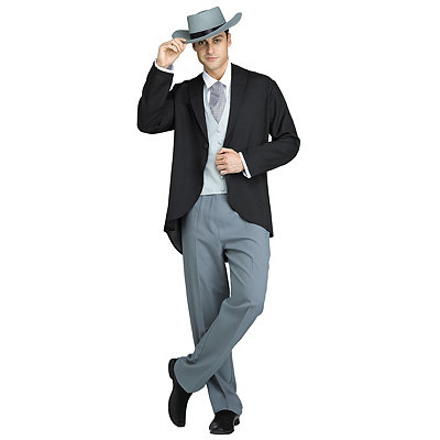Men's Vintage Style Suits, Classic Suits Adult Rhett Butler Costume - Gone with the Wind $79.99 AT vintagedancer.com