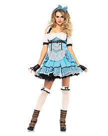 Adult Rebel Alice Costume