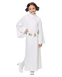 Kids Hooded Princess Leia Costume - Star Wars