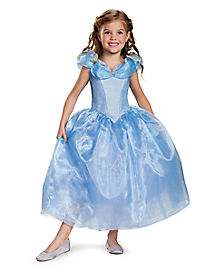 Kids Cinderella Costume Deluxe - Cinderella Movie