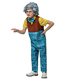 Kids Grandpa One Piece Costume