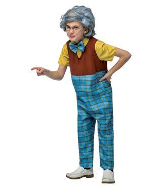100 Days of School Dress-Up Old Man