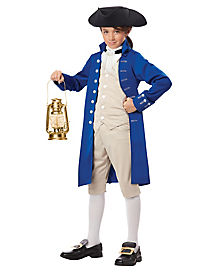Kids Paul Revere Costume