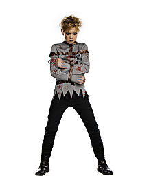 Kids Ghostly Gashed Costume