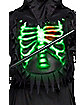 Kids Glow Chest Reaper Costume