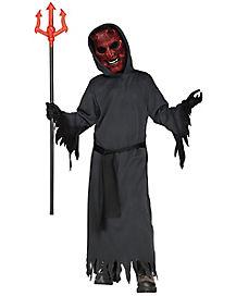 Kids Light Up Smoldering Devil Costume