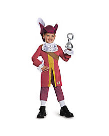 Toddler Captain Hook Costume Deluxe - Peter Pan