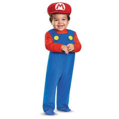 Baby Mario One Piece Costume - Mario Bros  sc 1 st  Spirit Halloween & Toddler Luigi One Piece Costume - Super Mario Bros - Spirithalloween.com