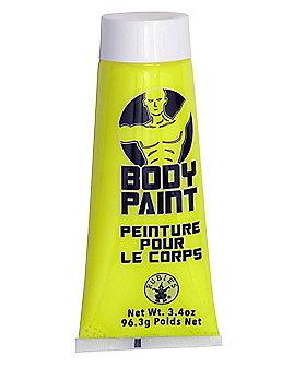Yellow Body Paint