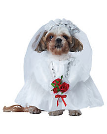Puppy Love Bride Dog Costume