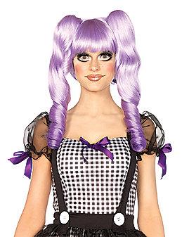 Dolly Lavender Bob Wig