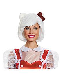 hello kitty wig hello kitty - Halloween Hello Kitty Costume