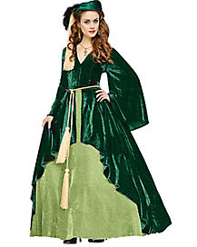 Adult Scarlett O'Hara Curtain Dress Costume - Gone with the Wind