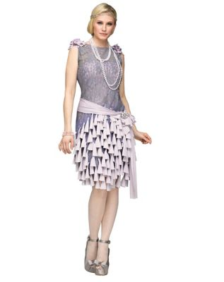 1920s Style Dresses, Flapper Dresses Adult Daisy Buchanan Costume - The Great Gatsby by Spirit Halloween $79.99 AT vintagedancer.com