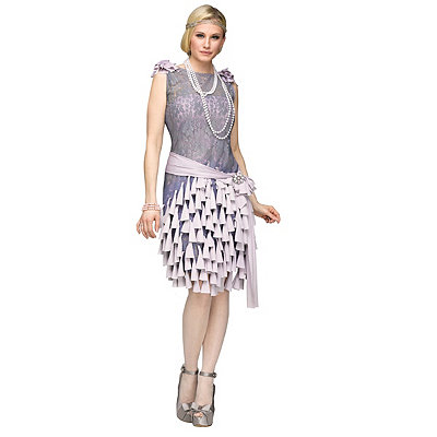 Downton Abbey Inspired Dresses Adult Daisy Buchanan Costume - The Great Gatsby $79.99 AT vintagedancer.com