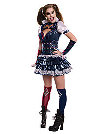 Adult Harley Quinn Costume - Batman: Arkham