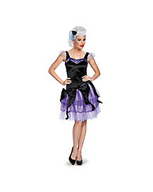 Adult Ursula Costume Deluxe - The Little Mermaid