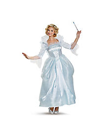 Adult Fairy Godmother Costume Deluxe - Cinderella Movie