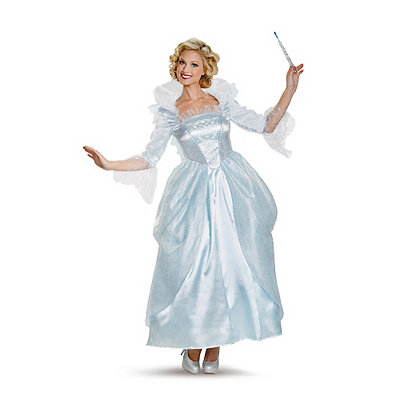 Pin Up Dresses | Pin Up Clothing Adult Fairy Godmother Costume Deluxe - Cinderella Movie $99.99 AT vintagedancer.com