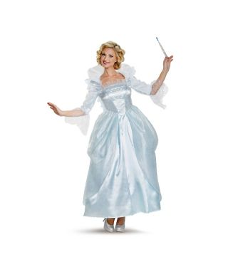 ff97652a697 Adult Fairy Godmother Costume Deluxe - Cinderella Movie ...