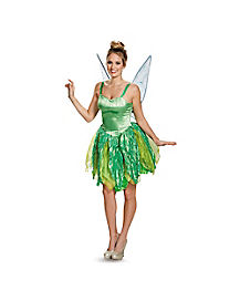 Adult Tinker Bell Costume Deluxe - Peter Pan