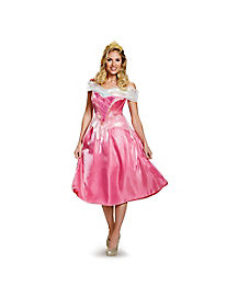 Adult Aurora Costume Deluxe - Sleeping Beauty
