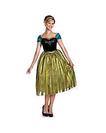 Adult Anna Coronation Costume - Frozen