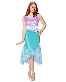 Adult Ariel Costume Deluxe - The Little Mermaid