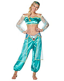 Adult Jasmine Costume Deluxe - Aladdin