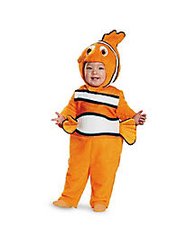 Baby Nemo One Piece Costume - Finding Nemo
