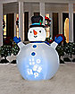 7 Ft Panoramic Projection Snowman Inflatable - Decorations