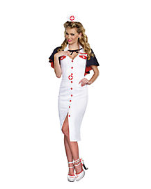 Adult Night Nurse Costume