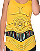 Hooded C-3PO Tank Top - Star Wars